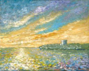 Original Art Painting by Artist Helen Lowe of Quin Art Shop