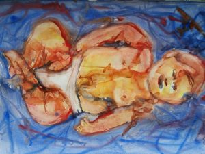 Original Art Painting by Helen Lowe of Quin Art Shop