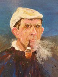Original Art Painting of Tom Crean by Helen Lowe Quin Art Shop