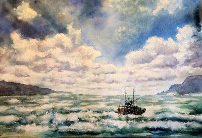 fishing trawler Kinvara