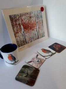 Large Gift Box by Irish Artist Helen Lowe based in Quin County Clare