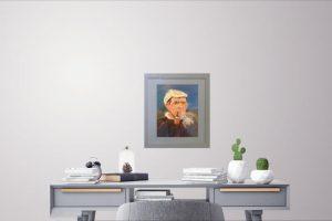 arctic explorer, painting