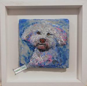Pet portrait dog painting