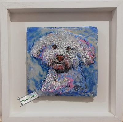 Pet portrait dog painting